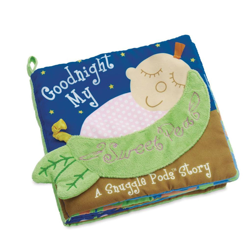 The Manhattan Toy Company - 211710 | Snuggle Pod My Sweet Pea Book
