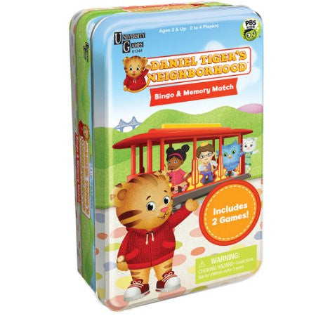 01344 Daniel Tiger's Neighborhood Bingo