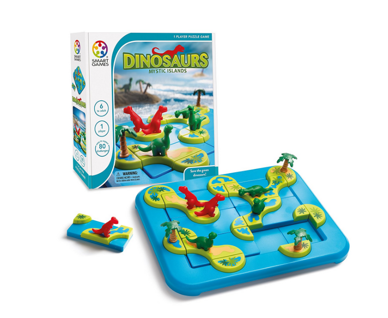 DINSAURS-MYSTIC  ISLANDS - 518402 Castle Toys Kids
