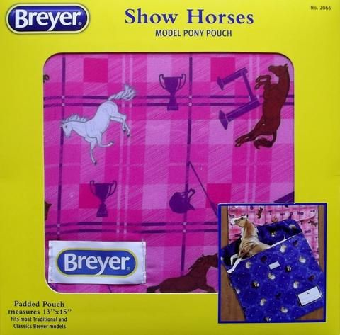 Breyer - 2066 | Traditional: Show Horses Model Pony Pouch - Pink