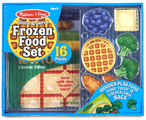 Melissa & Doug - Store & Serve Frozen Food Set