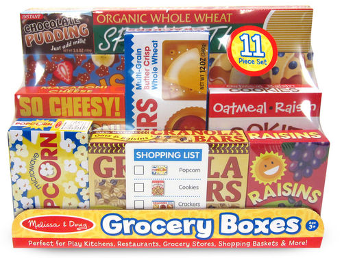 Melissa & Doug - Let's Play House: Grocery Shelf Box