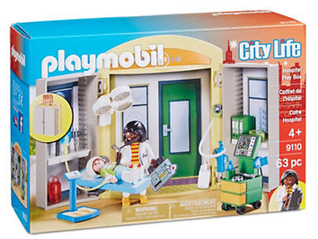 Playmobil - City Life: Hospital Play Box