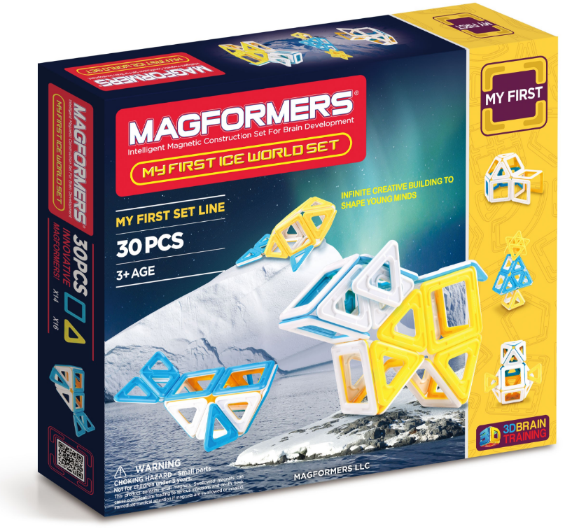 Magformers - 63136 | My First Ice World Set - 30 PC