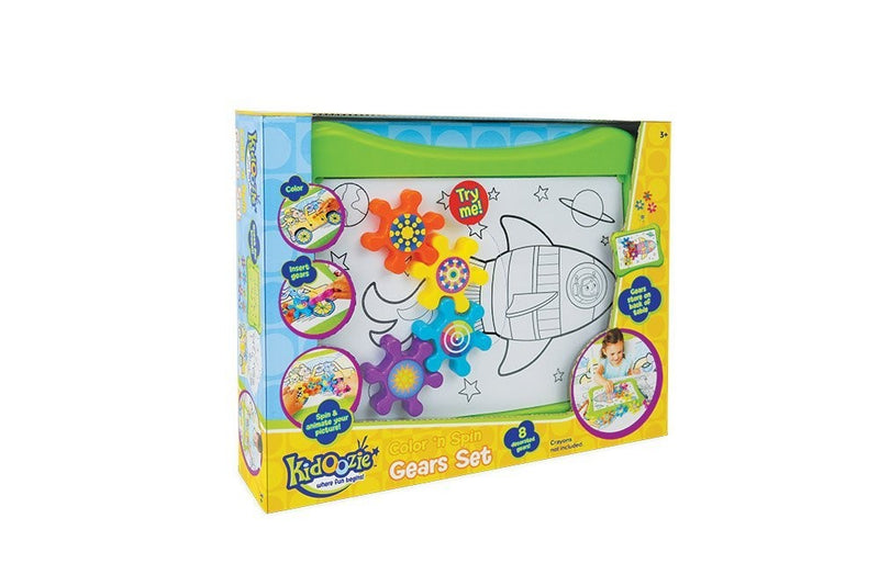 Kidoozie - Color N Spin Gears Set