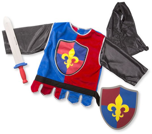 Melissa & Doug - 14849 | Pretend Play: Knight Costume Role Play Dress-Up Set