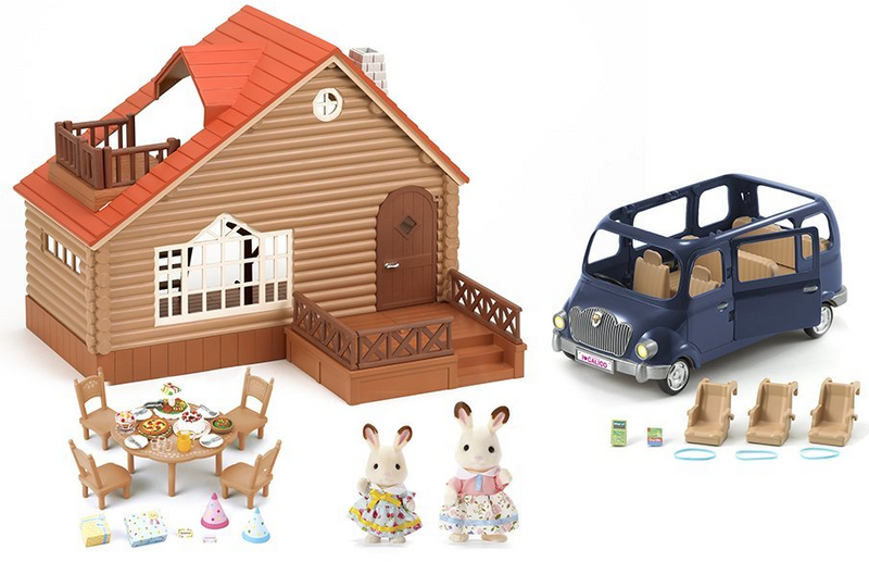 Calico Critters - CC2085 | Lakeside Lodge Gift Set