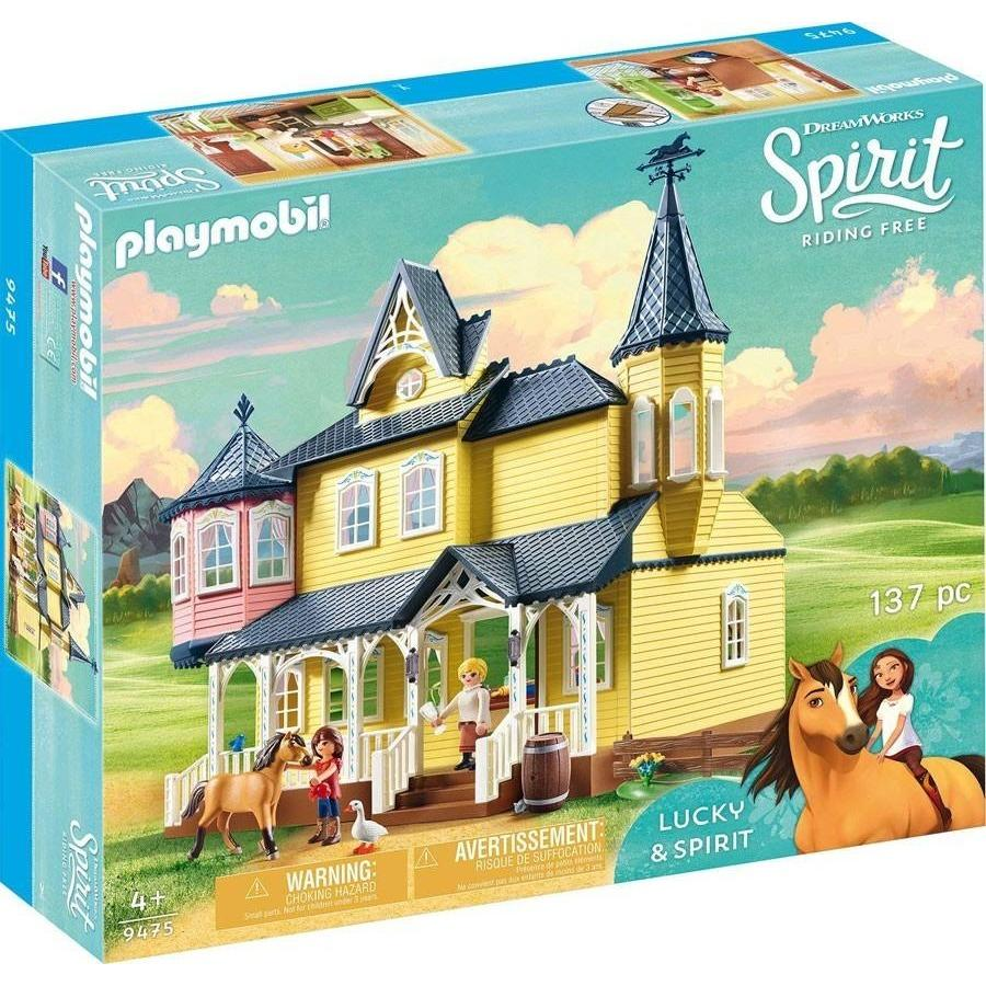 Playmobil - 9475 | Spirit: Lucky's Happy Home