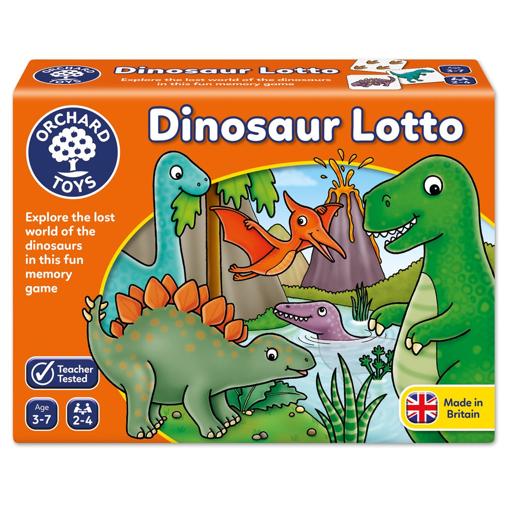 Orchard Toys - 102997 | Dinosaur Lotto Game