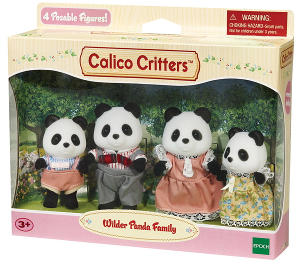 Calico Critters - CC1507 | Wilder Panda Bear Family