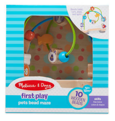 Melissa & Doug - 4168 First Play: Pets Bead Maze