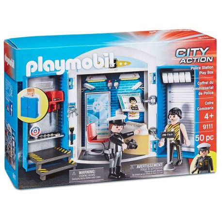 Playmobil - 9111 | City Action: Police Station Play Box