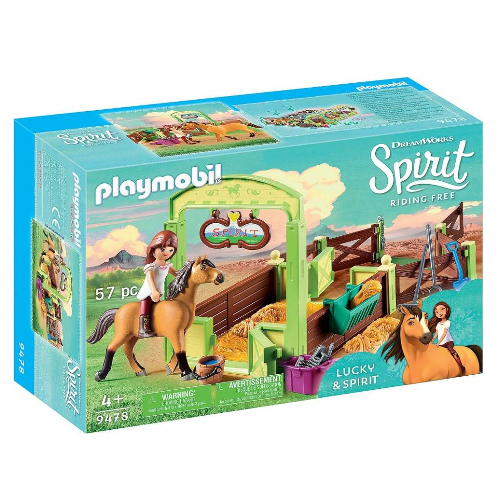 Playmobil - 9478 | Spirit: Horse Box 'Lucky & Spirit'
