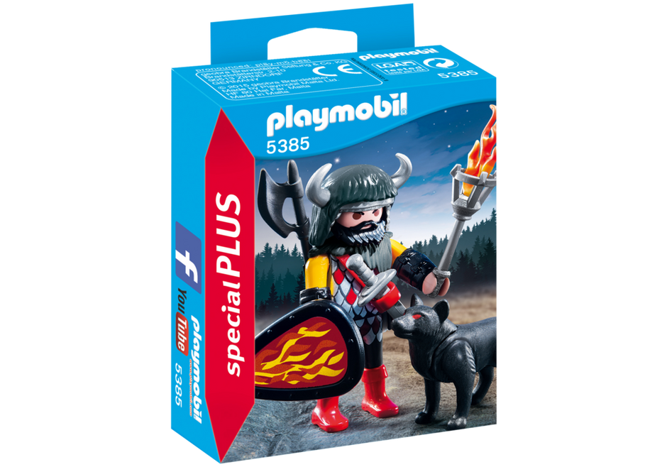 Playmobil - 5385 | Special Plus: Wolf Warrior