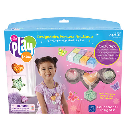 Educational Insights - EI1913 | PlayFoam Designables: Princess Necklace