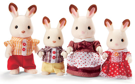 Calico Critters - CC1642 | Hopscotch Rabbit Family