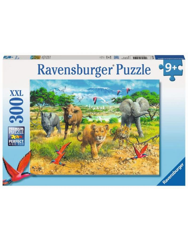 300 Piece Puzzle Big Five Babies - 13219