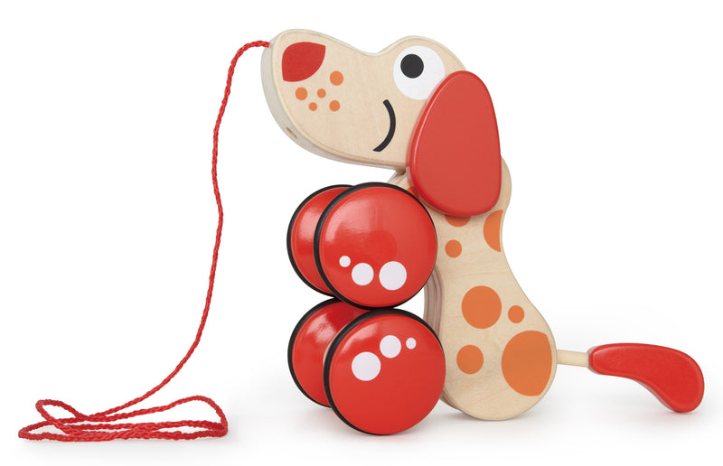 Hape Walk-A-Long Puppy Wooden - E0347