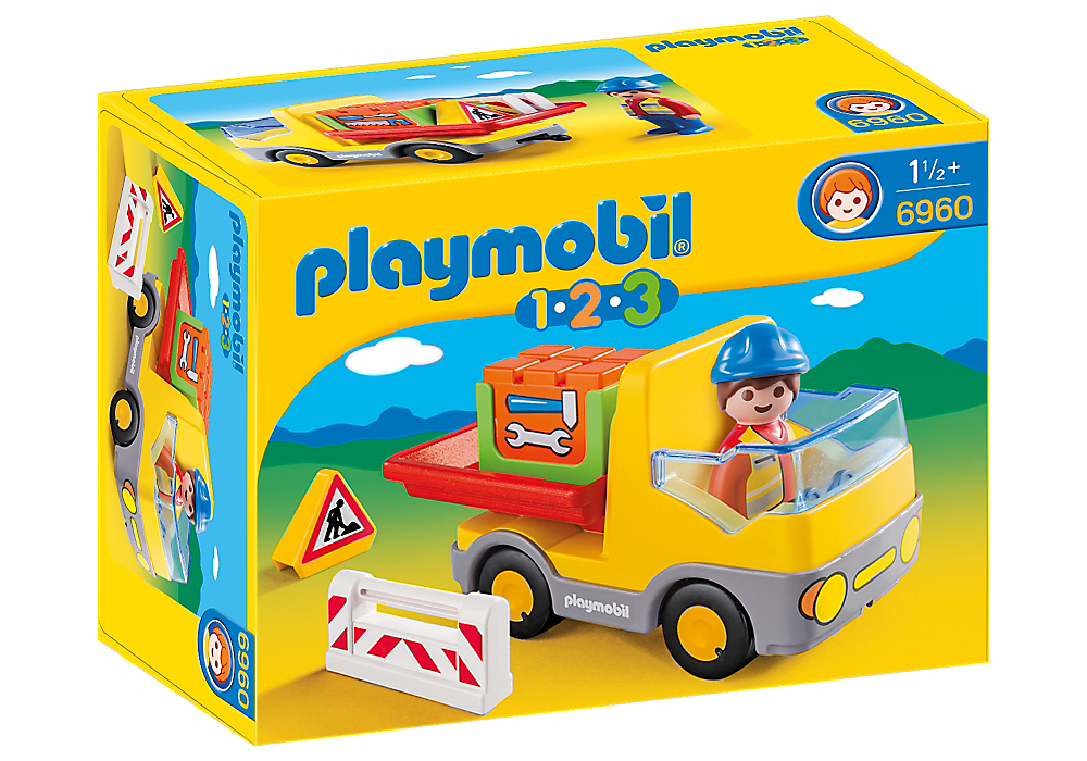 Playmobil 1-2-3 Construction Truck - 6960
