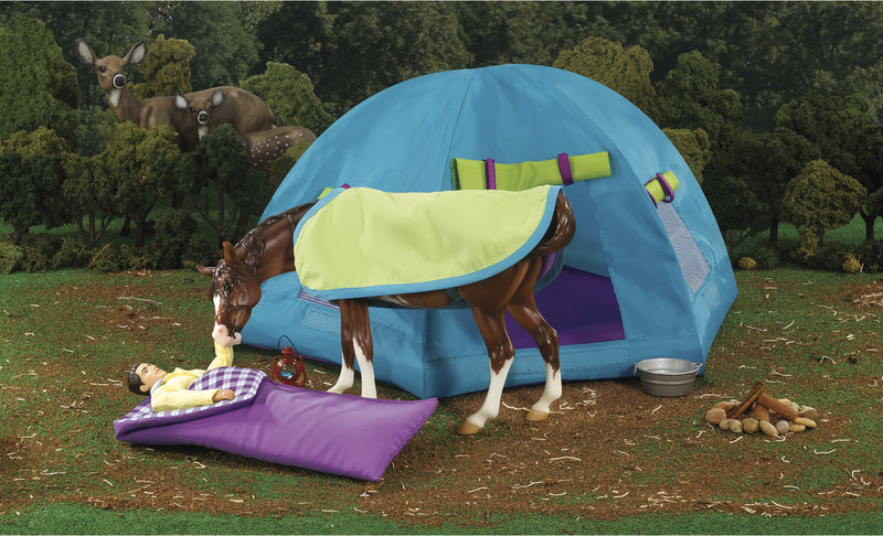 Breyer Backcountry Camping Set 1:9 - 1380