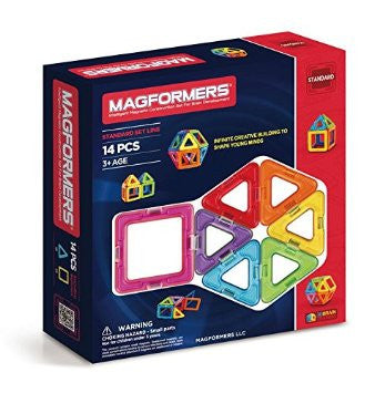Magformers 14 Piece Rainbow Set #63069