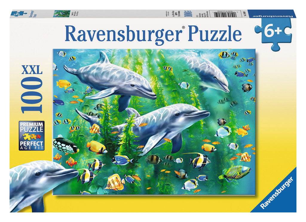 Ravensburger 100 Pieces Puzzle Dolphin Trio - 106059
