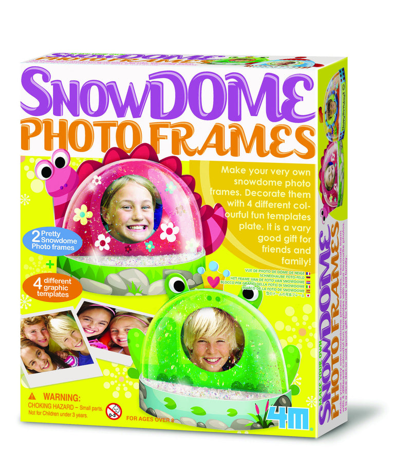 4M - P4593 | Make Your Own Snow Dome Photo Frames