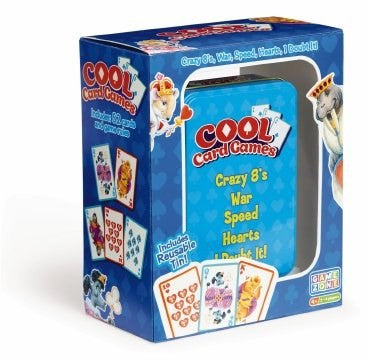 Game Zone 5-in-1 Cool Card Games