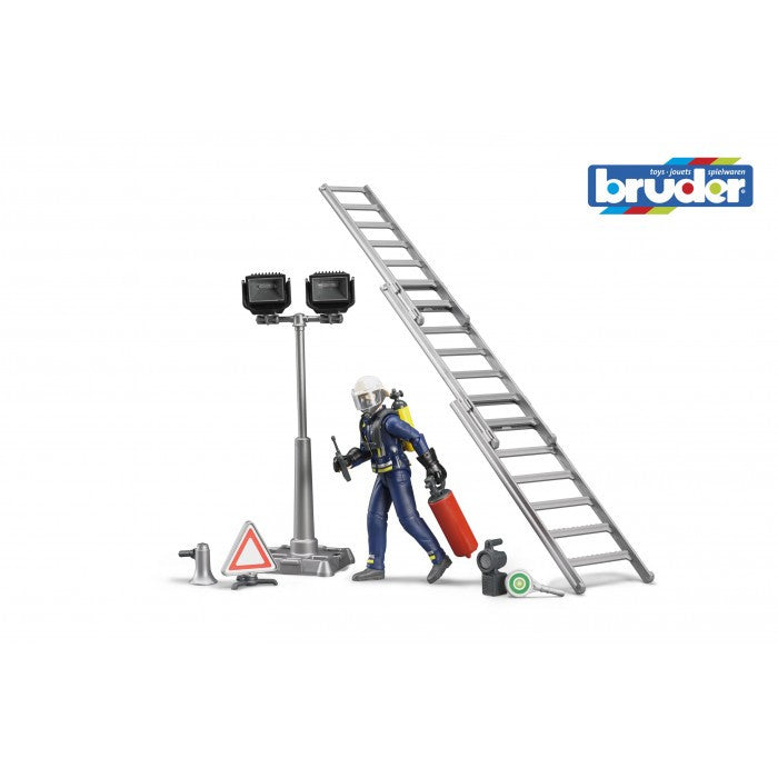 Bruder Fireman Brigade Set With Accessories - 62700