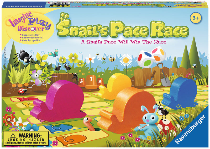 Ravensburger Snail's Pace Race Board Game - 22052