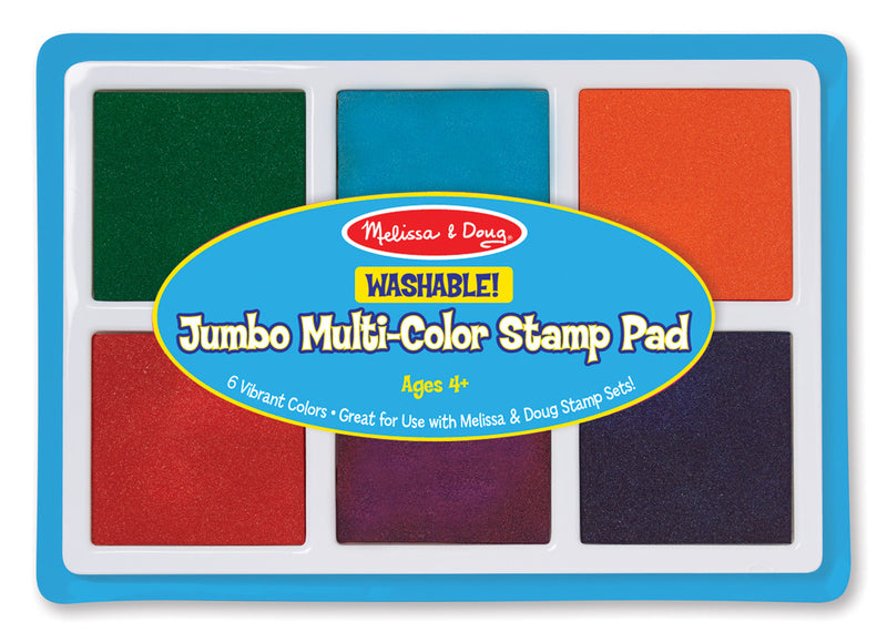 Melissa & Doug 2419 Jumbo 6-Colour Stamp Pad