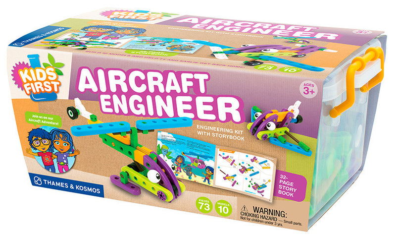 Aircraft Engineering Kit w/ Storybook