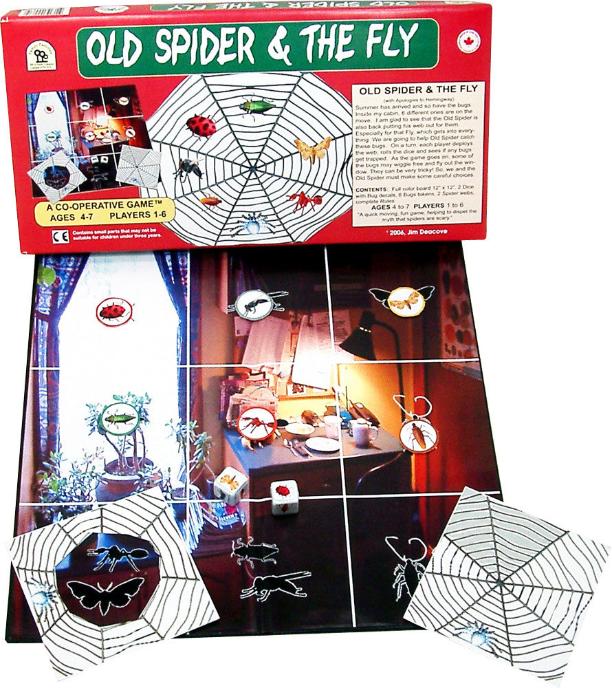 Family Pastimes Old Spider And Fly Game