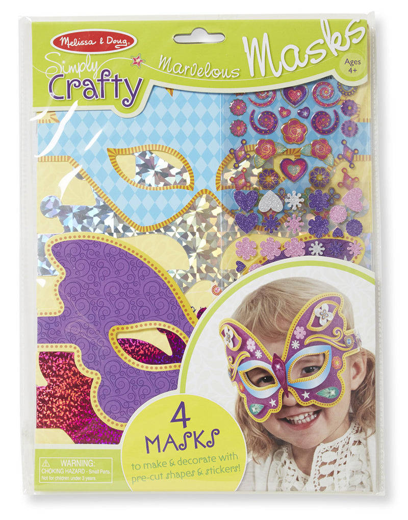 Melissa & Doug 9481 Simply Crafty - Marvelous Masks
