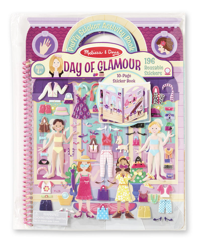 Melissa & Doug 19412 Deluxe Puffy Sticker - Day Of Glam