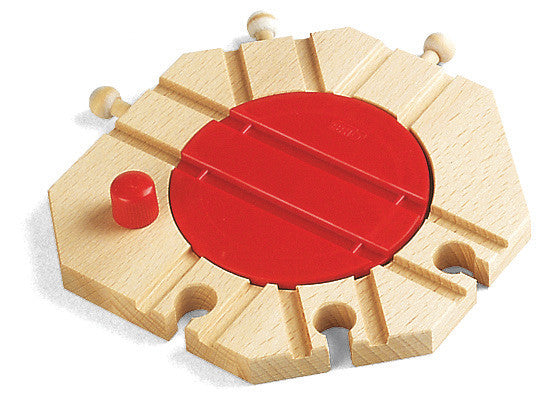 Brio Mechanical Train Turntable Wooden - 33361
