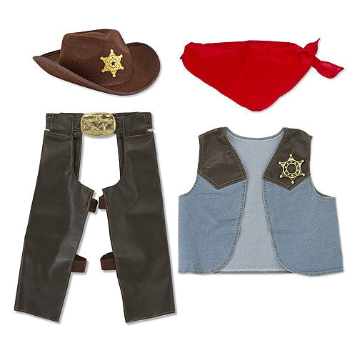 Melissa & Doug - 4273 | Pretend Play: Cowboy Role Play Set