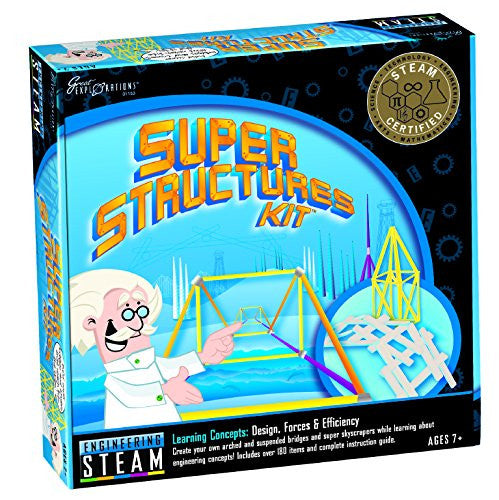 Great Explorations - STEAM Super Structures Kit