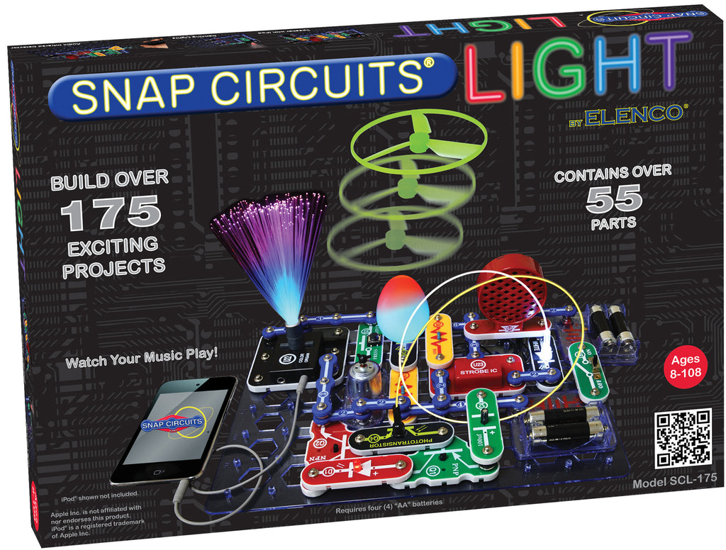 8 12 Years Old Tagged Science Technology Castle Toys Snap Circuits Rover Building Kids Engineering Skills Is A Item Elenco Scl 175 Light Kit