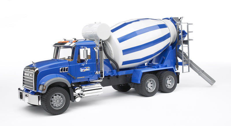 Bruder Mack Granite Cement Mixer - 02814