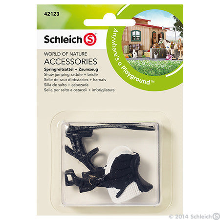 Schleich Jumping Saddle & Bridle - 42123