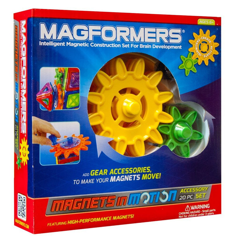 Magformers 20 Pieces Gear Accessory Set