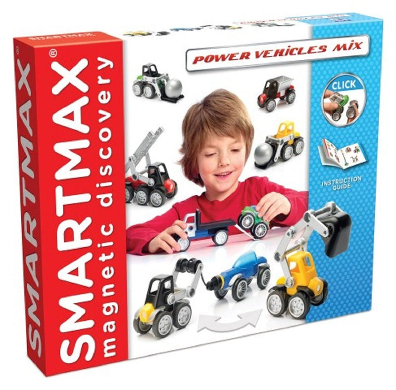 SmartMax Power Vehicles 25 Piece SMX 303