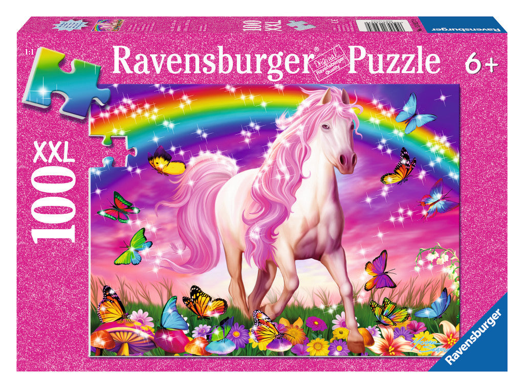 Ravensburger 100 Pieces Puzzle Glitter Horse Dream - 13927