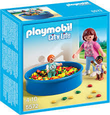 Playmobil Ball Pit With Children - 5572