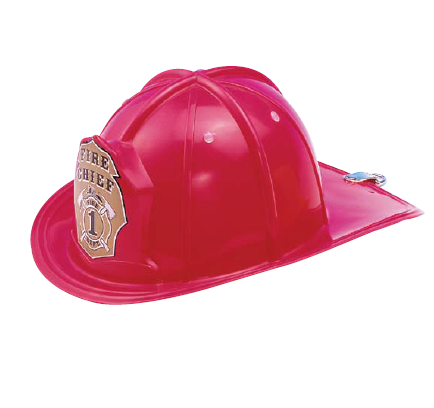 Fire Chief Adjustable Helmet Role Play