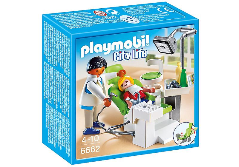 Playmobil Dentist With Patient - 6662