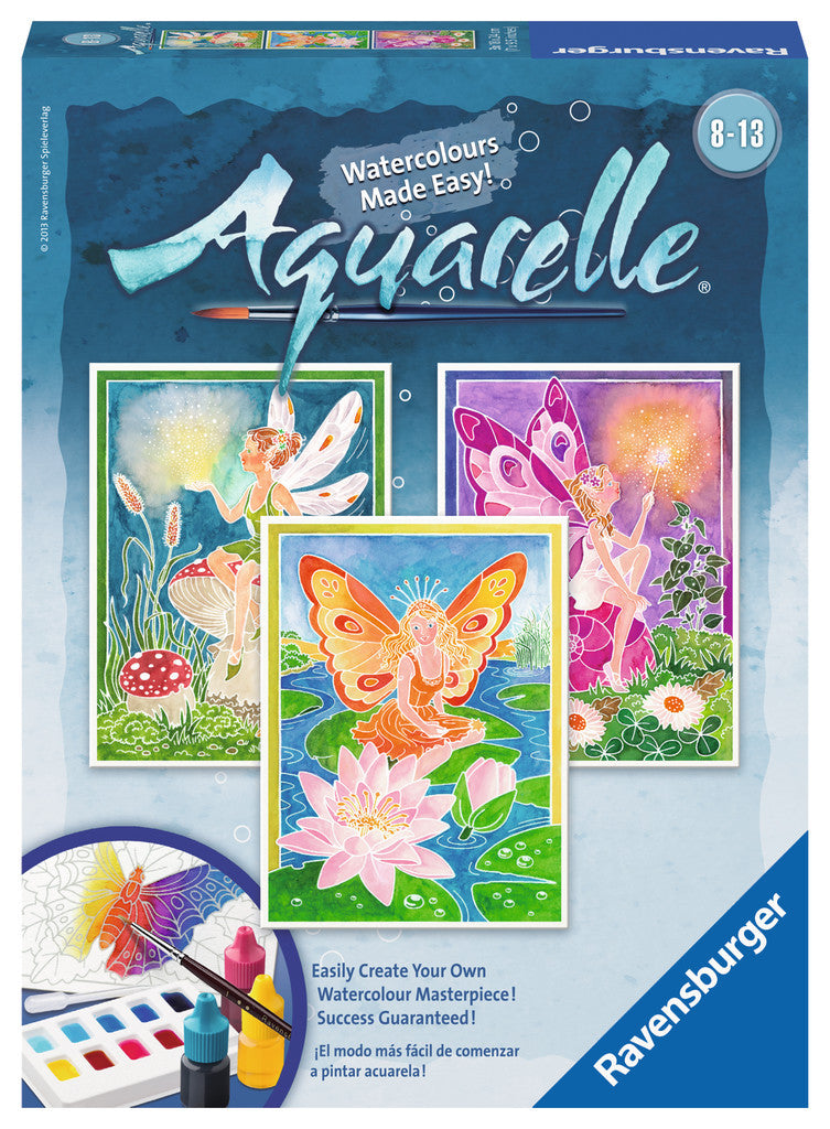Ravensburger Aquarelle Watercolour Midi: Elves - 293216