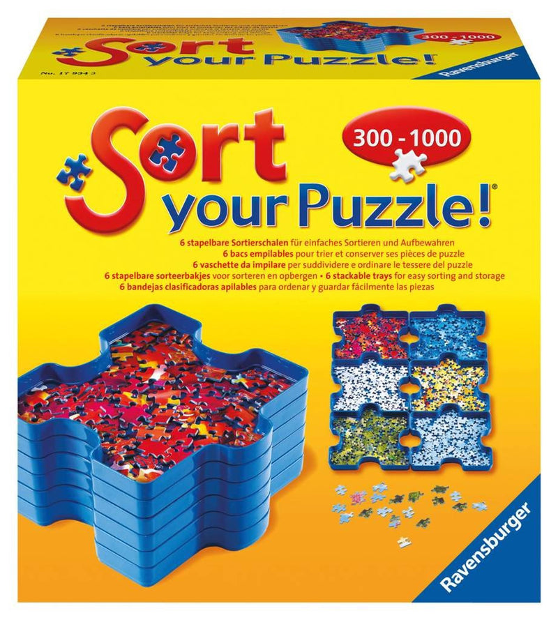 Ravensburger Sort Your Puzzle 300-1000 Pieces - 17934