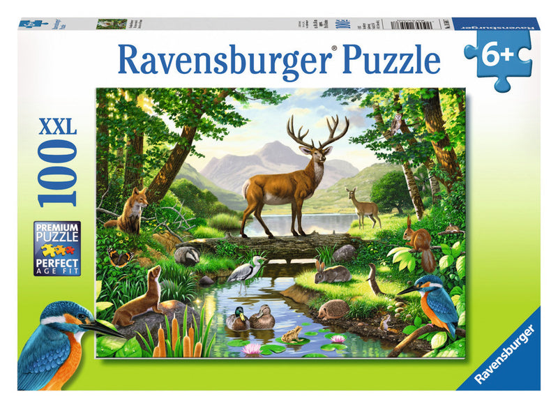 Ravensburger 100 Pieces Puzzle Woodland Harmony - 10568